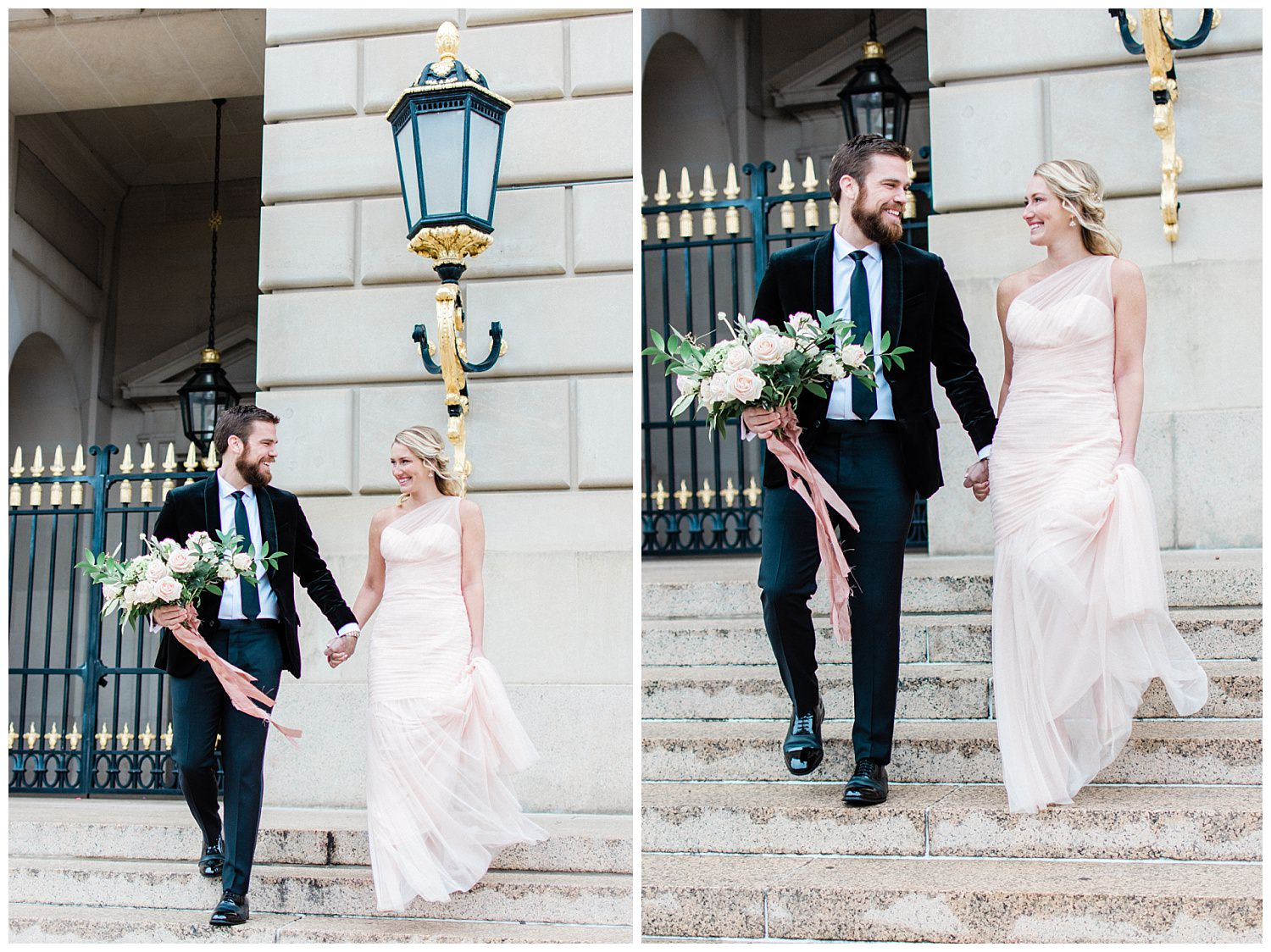 Romantic Washington, DC Engagement Session