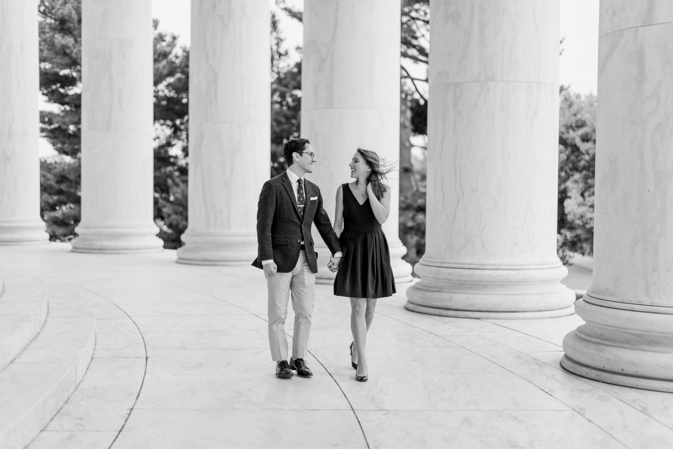 JeffersonMemorialDCEngagementSession - Rachel Galluzzo Photography-3