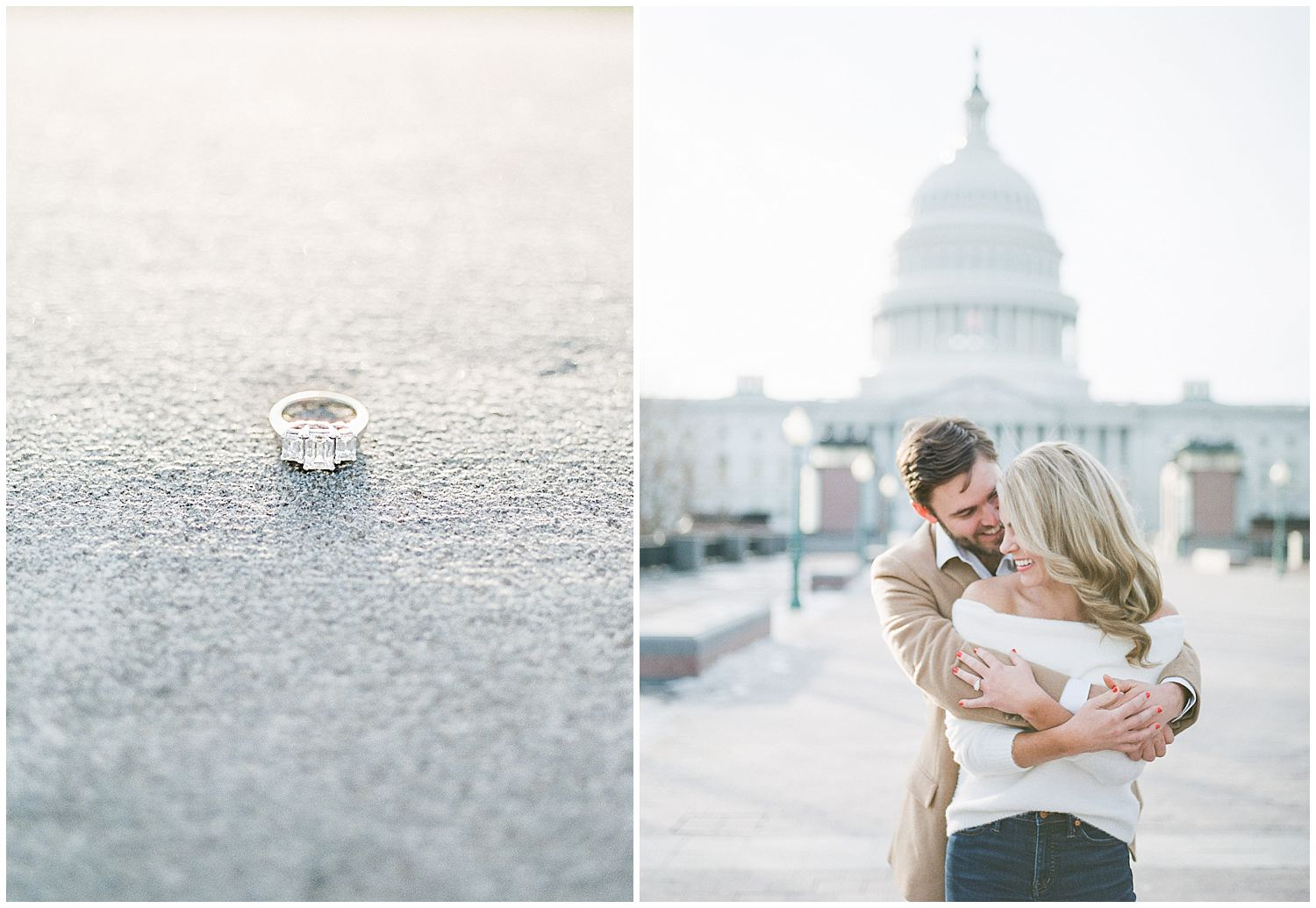 US Capitol Engagement Photos