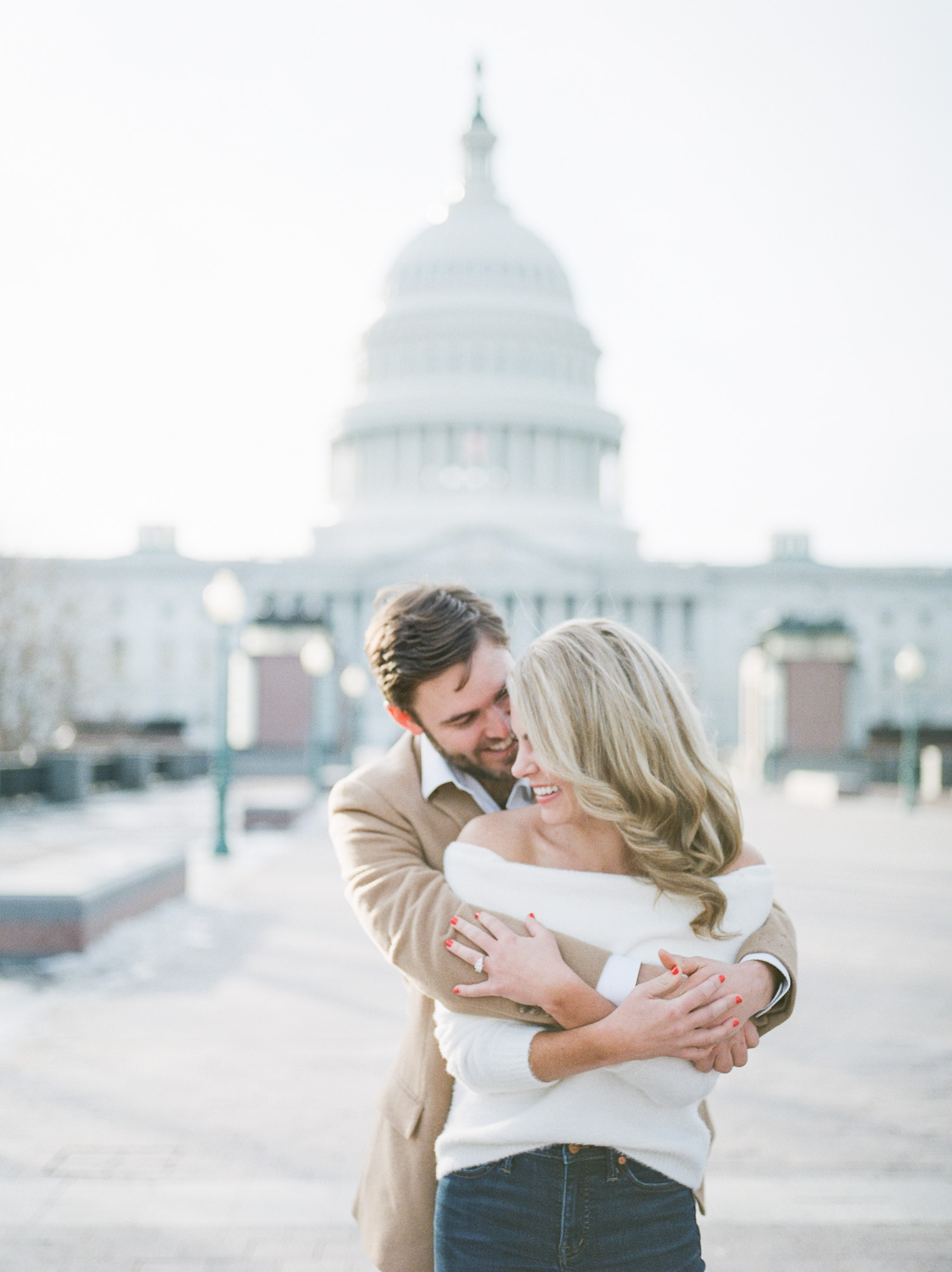 Winter-Engagement-Session-US-Capitol - Rachel Galluzzo Photography-19
