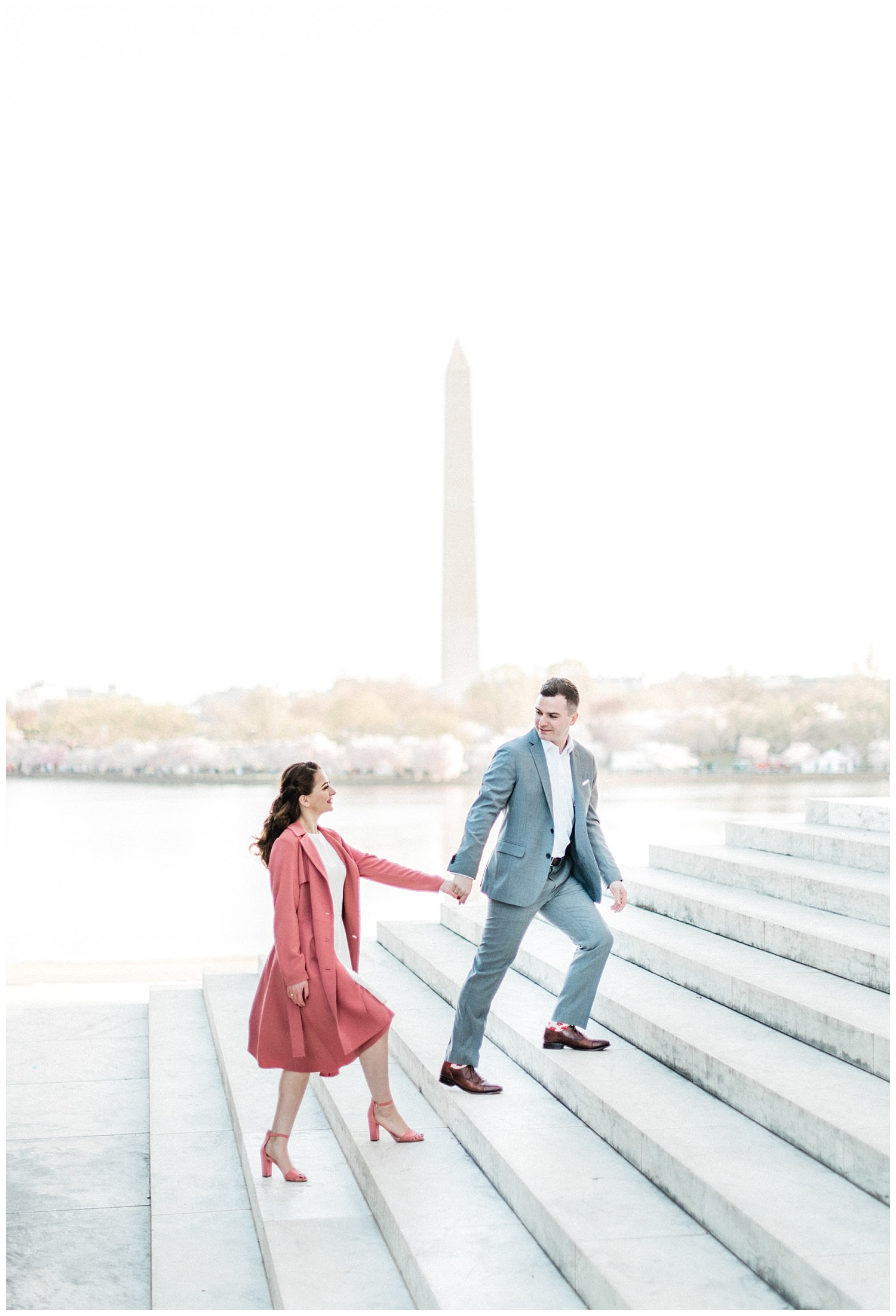 DC Cherry Blossom Engagement Photos - Rachel Galluzzo Photography (24)