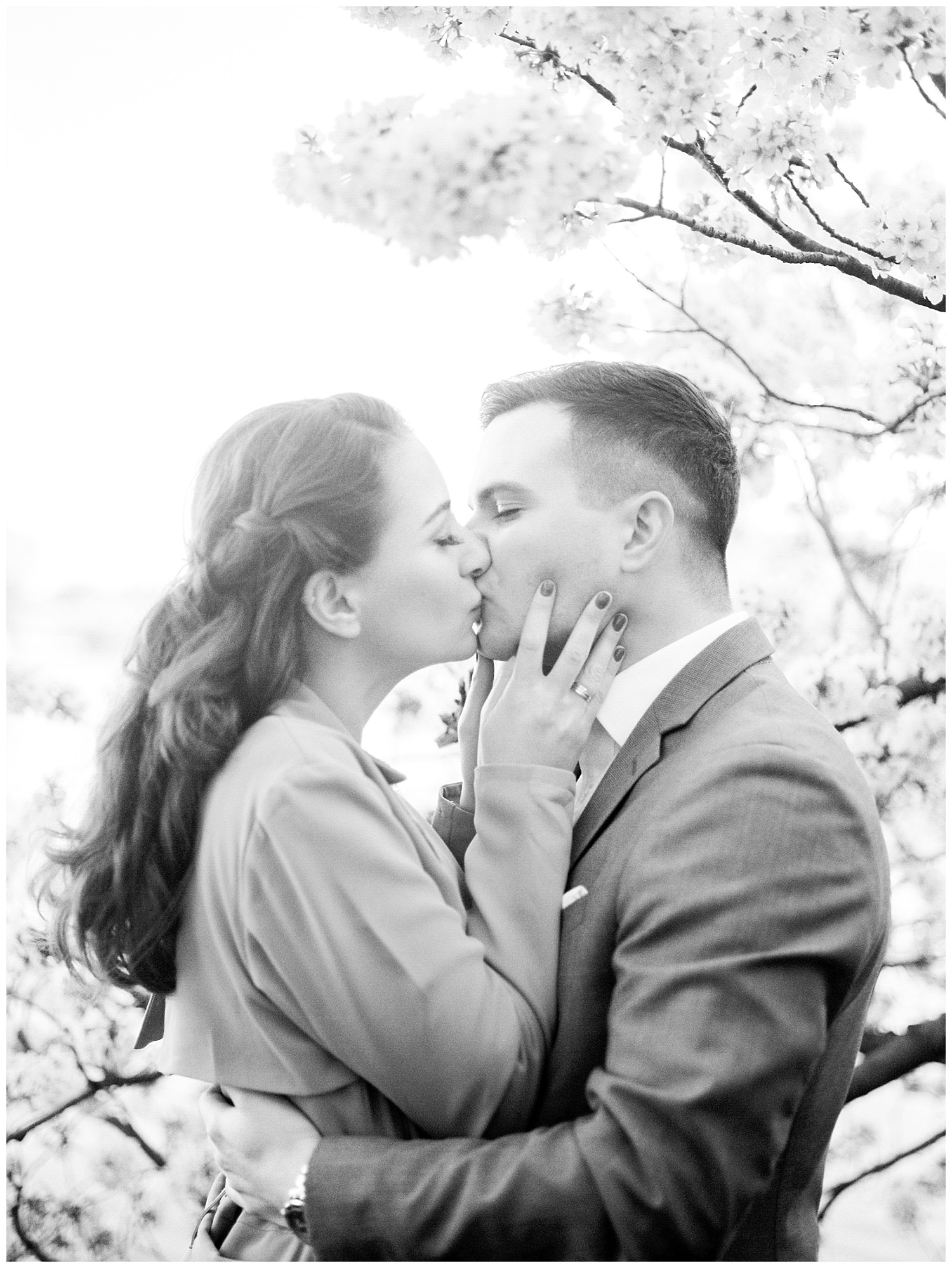 DC Cherry Blossom Engagement Photos - Rachel Galluzzo Photography (27)