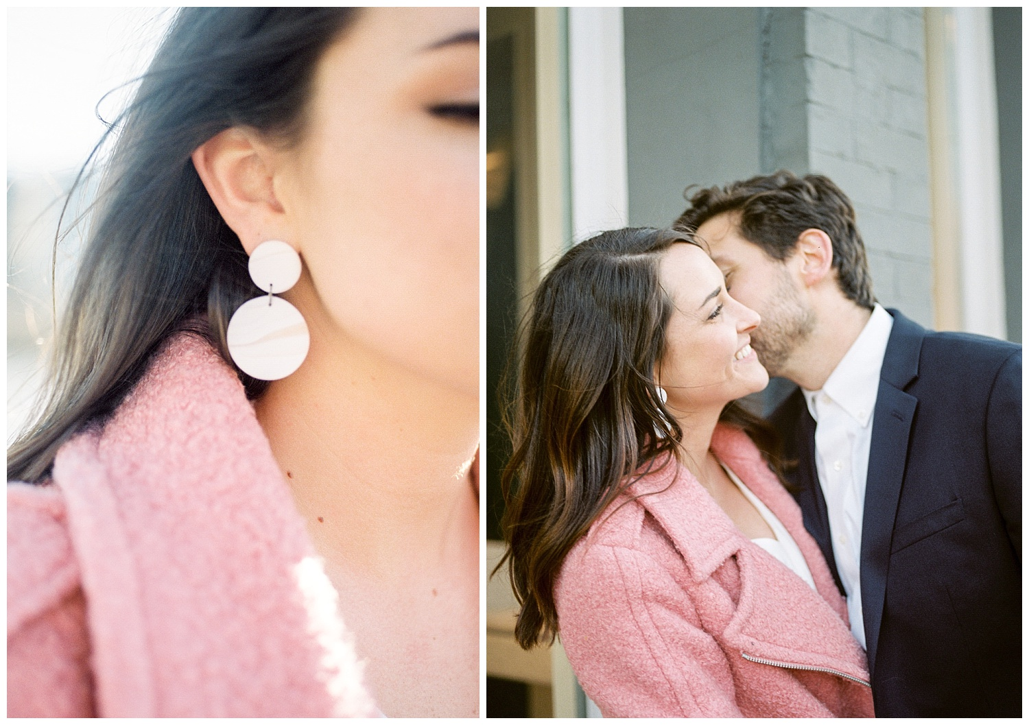 Chic DC Winter Engagement Session