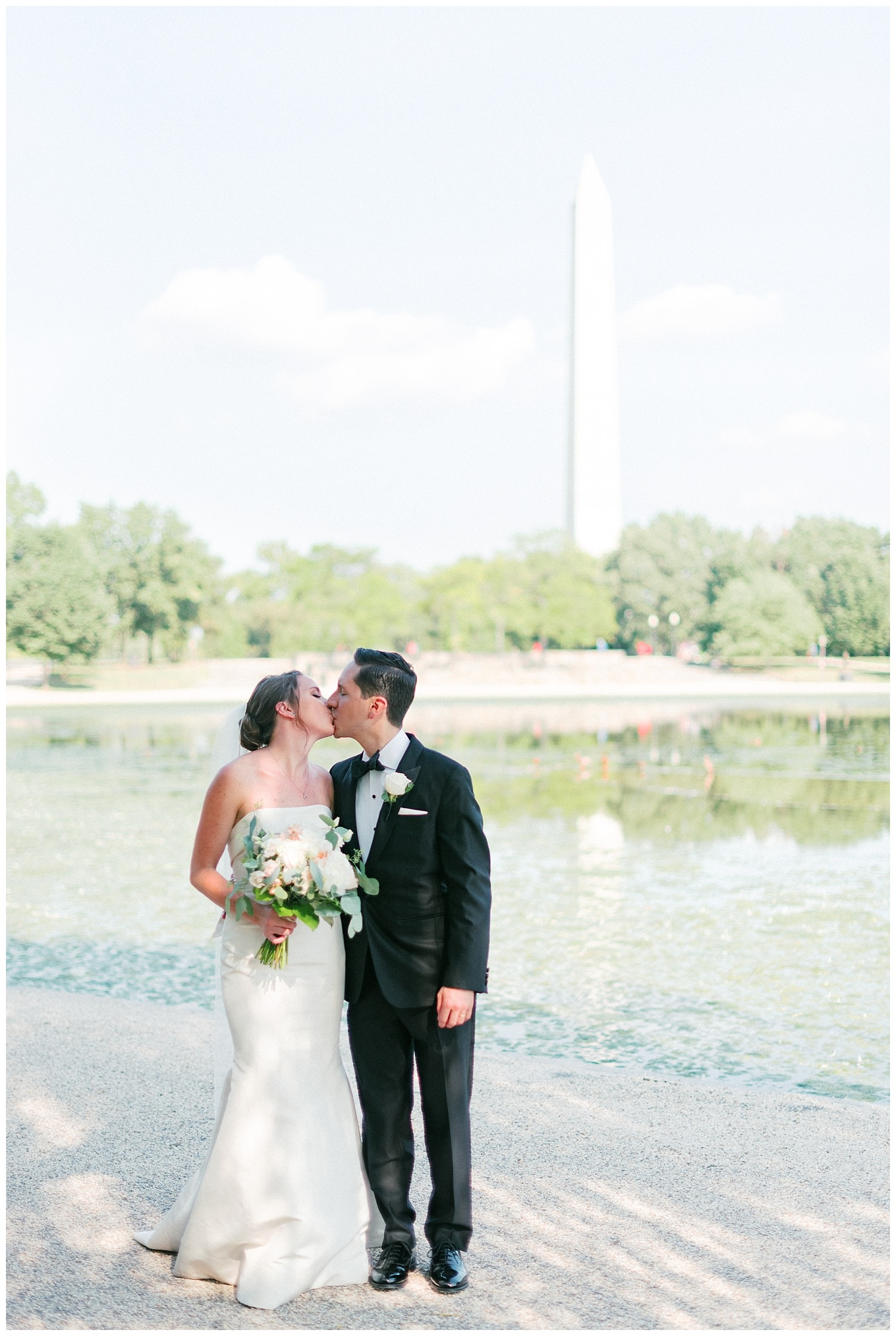 Constitution Gardens DC Wedding